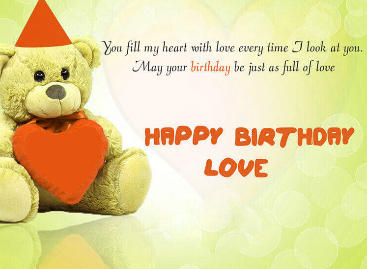 New Happy Birthday Images For Lover Wallpaper