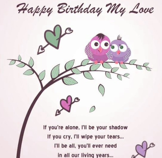 Cute Happy Birthday Images For Lover Wallpaper