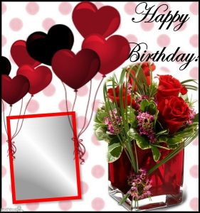 happy birthday frame images hd