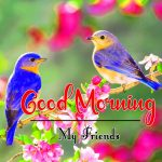 Bird Flower Good Morning Wishes Images Download