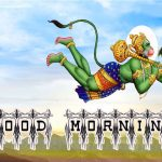 God Good Morning Images Pics Download With Hanuman JI