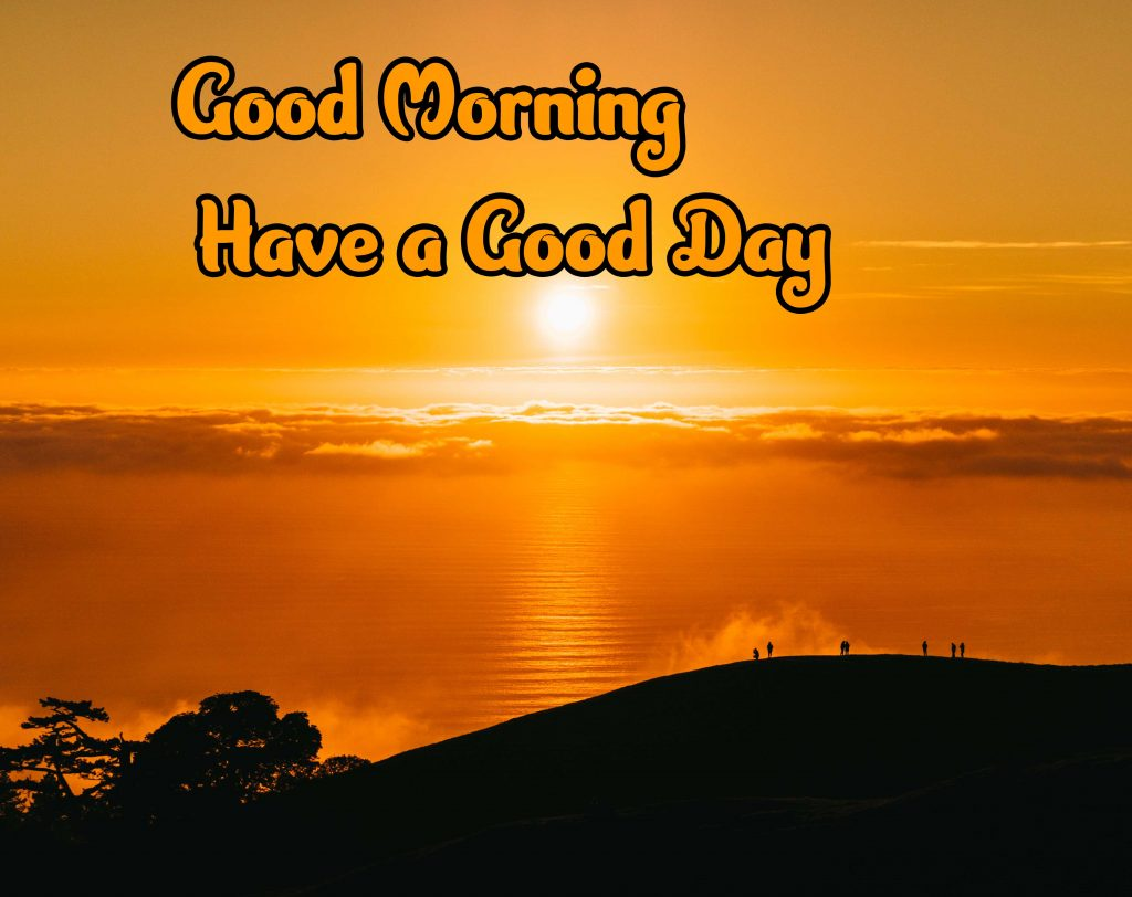 Latest Good Morning Images Pics Wallpaper With Sunrise