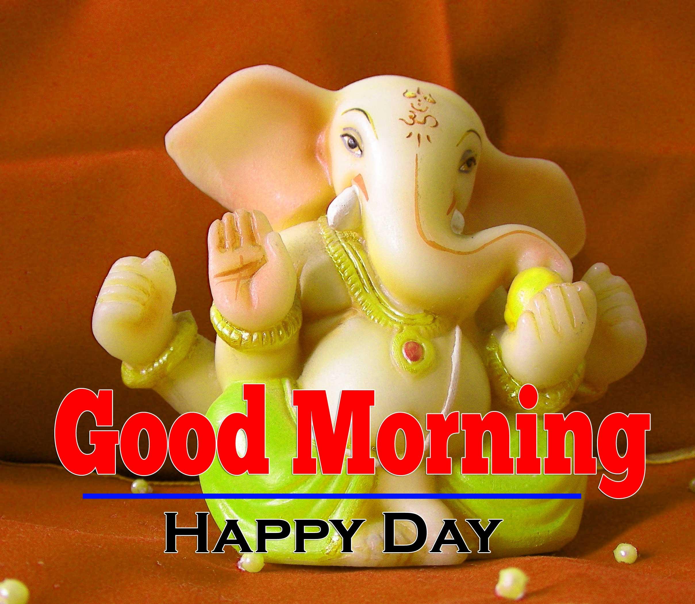 Hd Free Good Morning Ganesha Images
