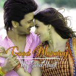 Romantic Lover Good Morning photo Download Free