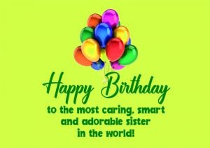beautiful happy birthday sister images