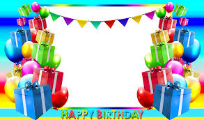 nice happy birthday frame images download