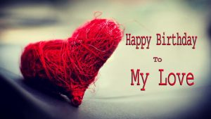 latest happy birthday images for lover