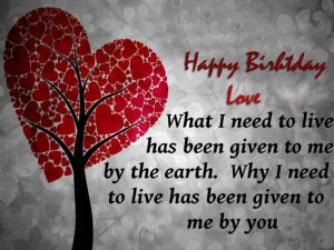 nice happy birthday images for lover