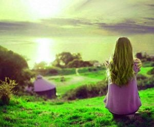 Alone Girl DP Images pictures free hd