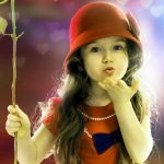 Cute Baby DP Images for Girls
