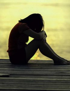 Beautiful Sad Alone Girls Images pics download