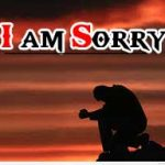 Best Latest I Am Sorry Images