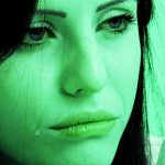Crying Girl Whatsapp DP Images wallpaper for facebook