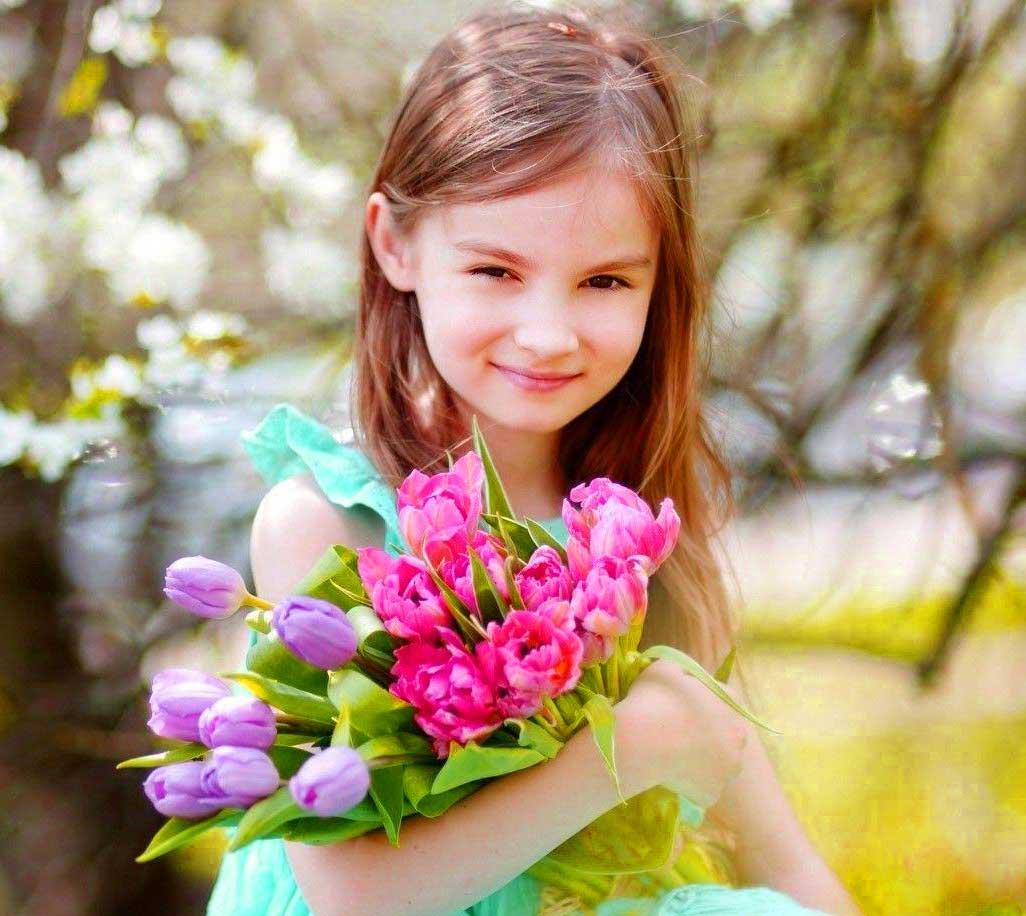 Cute Baby Girl Whatsapp Dp wallpaper photo free hd