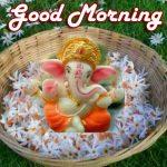 Ganpati Good Morning Images photo hd