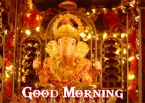 Ganpati Good Morning Images pictures free download