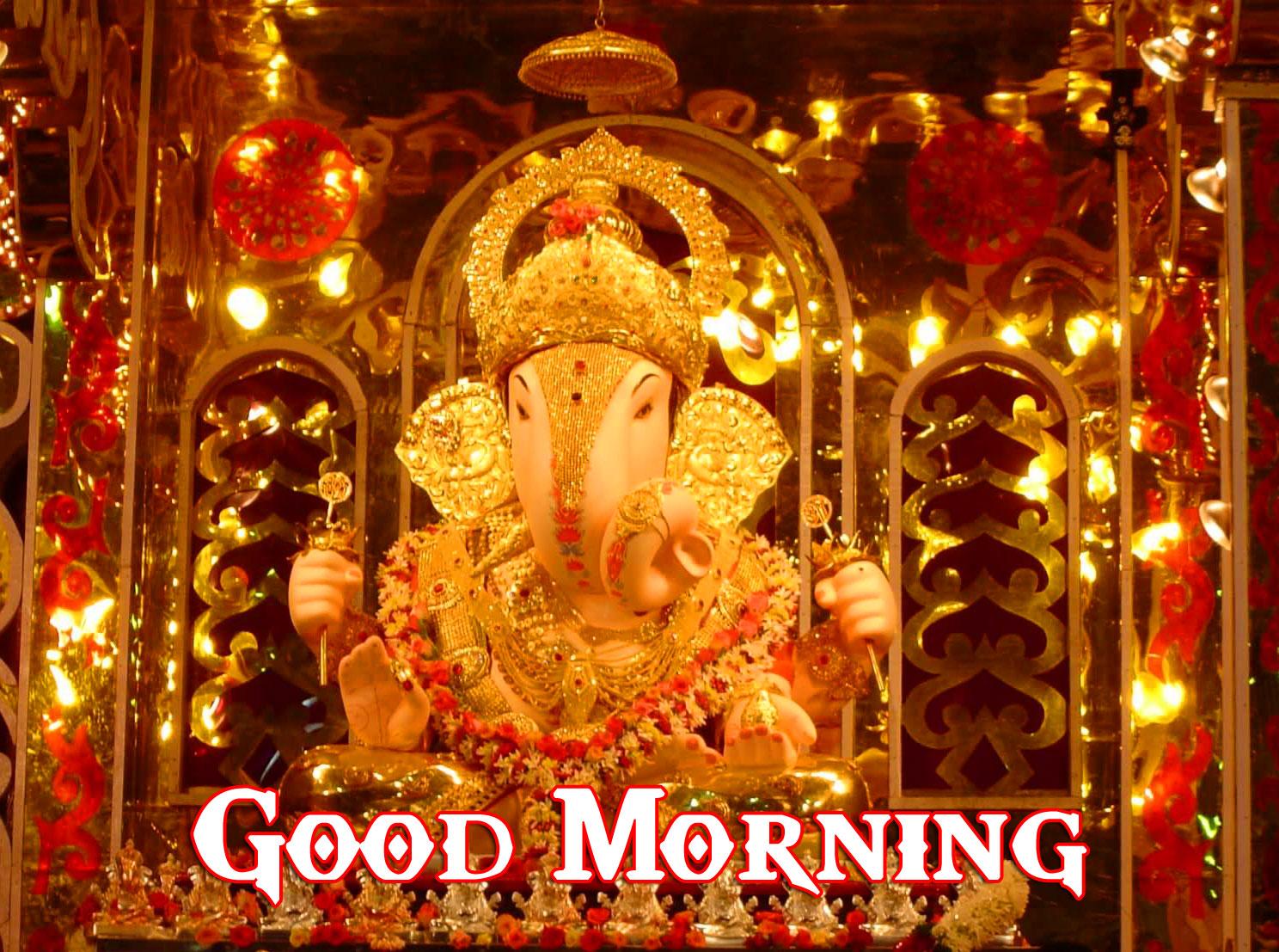 Ganpati Good Morning Images pictures free download