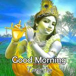 Best God Good Morning Images pics With Krishna