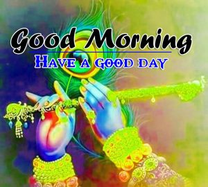 Krishna Good Morning HD Images Pics Download
