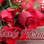Good Morning Red Rose Images pictures free hd download