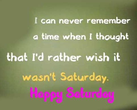 Happy Saturday Good Morning Images Pics Download