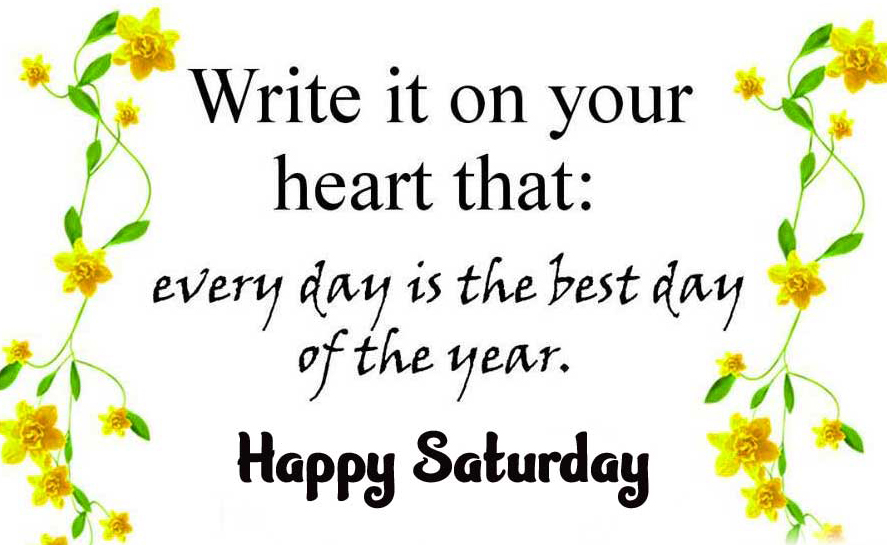 Happy Saturday Good Morning Images Pics Download Latest