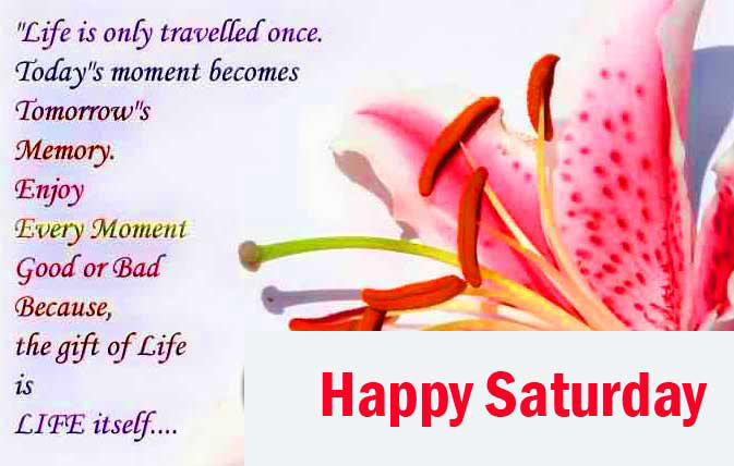 Happy Saturday Good Morning Images Photo for Facebook