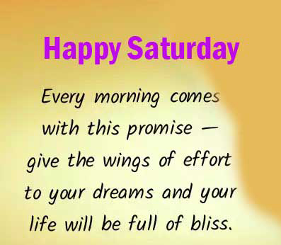 Happy Saturday Images With English Quotes