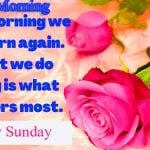 happy sunday good morning images pics photo download