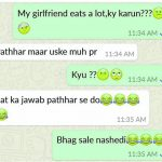 Hindi Funny Whatsapp DP Images photo for girl