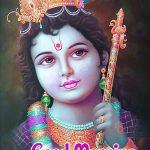 Jai Shri Krishna Good Morning Images photo pics hd