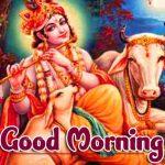 Jai Shri Krishna Good Morning Wallpaper