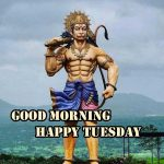 Tuesday / Hanuman Ji Mangalwar & Saniwar Good Morning Images Download