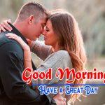 Romantic Love Couple Good Morning Photo Wallpaper