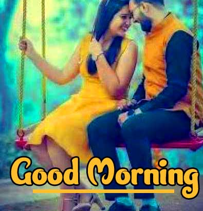 Romantic Couple Good Morning Pics Wallpaper Free Download