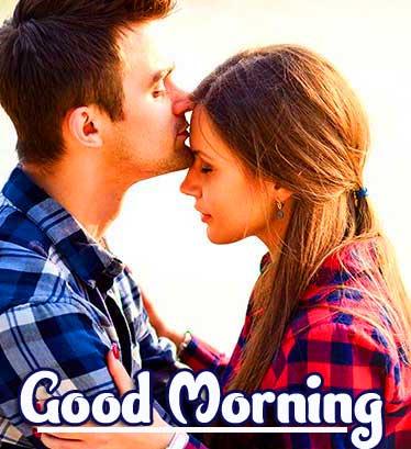 Romantic Couple Good Morning Pics Wallpaper Download