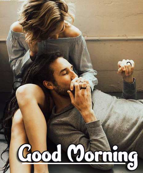 Romantic Couple Good Morning Images for Whatsapp / Facebook