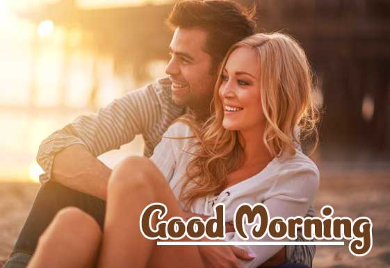 Romantic Couple Good Morning Images Pics