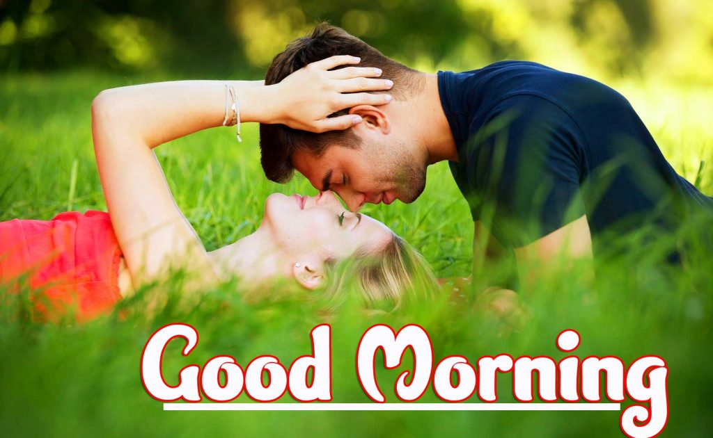 Romantic Couple Good Morning Wallpaper Free