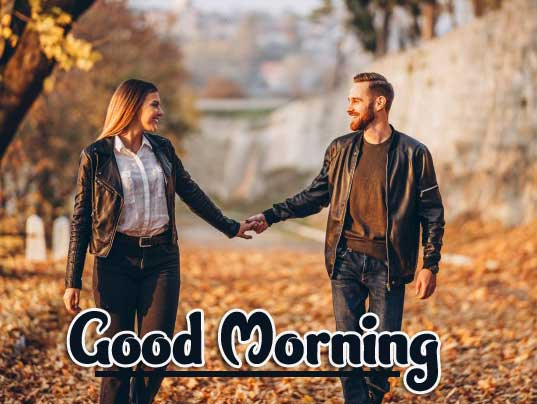 Romantic Couple Good Morning pics Wallpaper Free