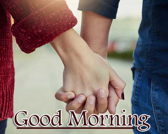 Romantic Couple Good Morning Photo for Wife