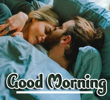 Very Romantic Couple Good Morning Images Free