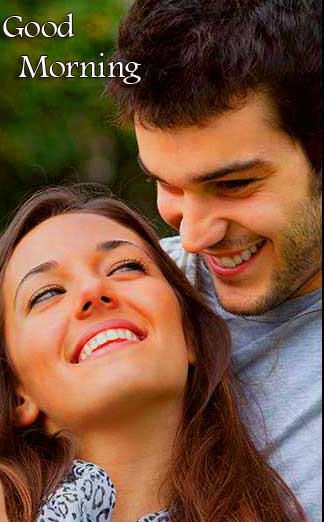 Very Romantic Couple Good Morning Wallpaper Pics Download