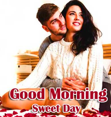Very Romantic Couple Good Morning Pics Download