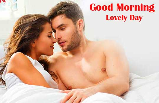 Very Romantic Couple Good Morning Wallpaper Download