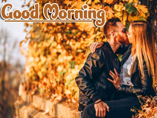Very Romantic Couple Good Morning Photo Download Free