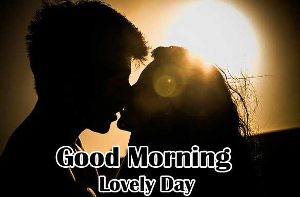 Very Romantic Couple Good Morning Wallpaper Free Download