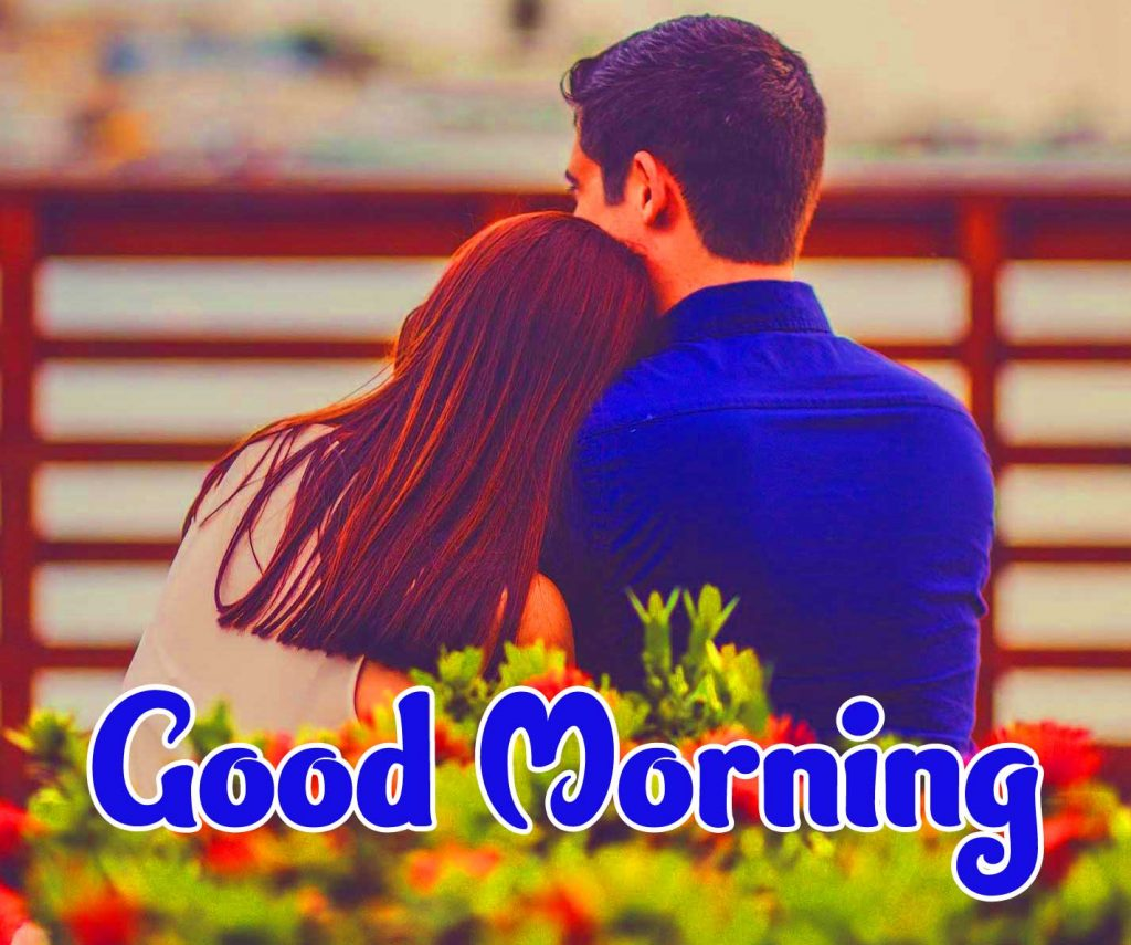 Very Romantic Couple Good Morning Photo Free Latest
