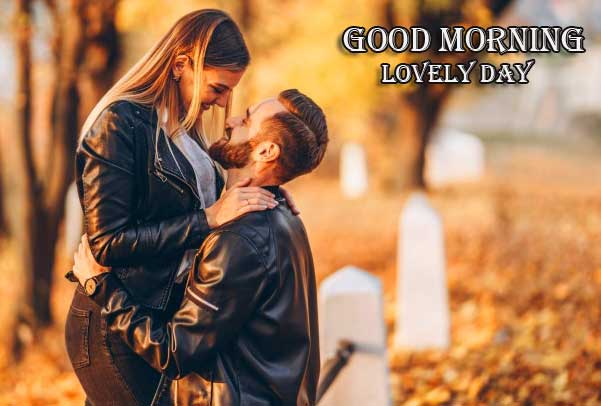 Very Romantic Couple Good Morning Pics Wallpaper Download