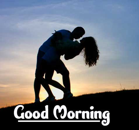 Very Romantic Couple Good Morning Images Pics Download